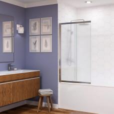 Шторка на ванну WasserKRAFT Main 41S02-100L Matt glass 100 см