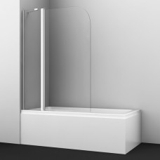 Шторка на ванну WasserKRAFT Leine 35P02-110 Fixed 110(70+40) см