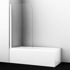 Шторка на ванну WasserKRAFT Leine 35P01-80WHITE 80 см