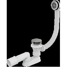 Сифон для ванны AlcaPast A505KM, click/clack, хром