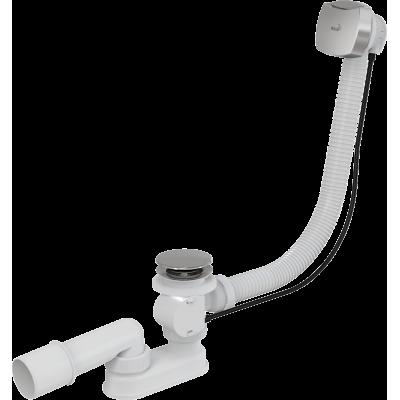 Сифон для ванны AlcaPast A51CRM, автомат, хром