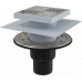 Трап для душа AlcaPlast APV4444 150х150/50/75 мм