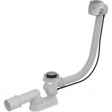Сифон для ванны AlcaPast A55K NEW-120-RU-01, автомат, хром