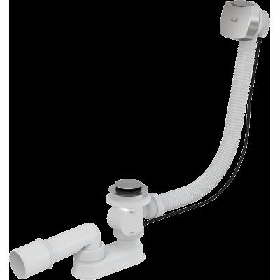 Сифон для ванны AlcaPast A51CR, автомат, хром