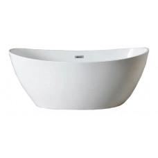 Ванна акриловая отдельностоящая Azario Glasgow 166х78 см