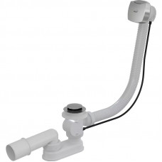 Сифон для ванны AlcaPast A55K NEW-RU-01, автомат, хром